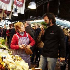 Clase de Cocina Española y Mercado de La Boqueria